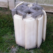 AFTER - Filter grids after being dismantled and thoroughly cleaned.