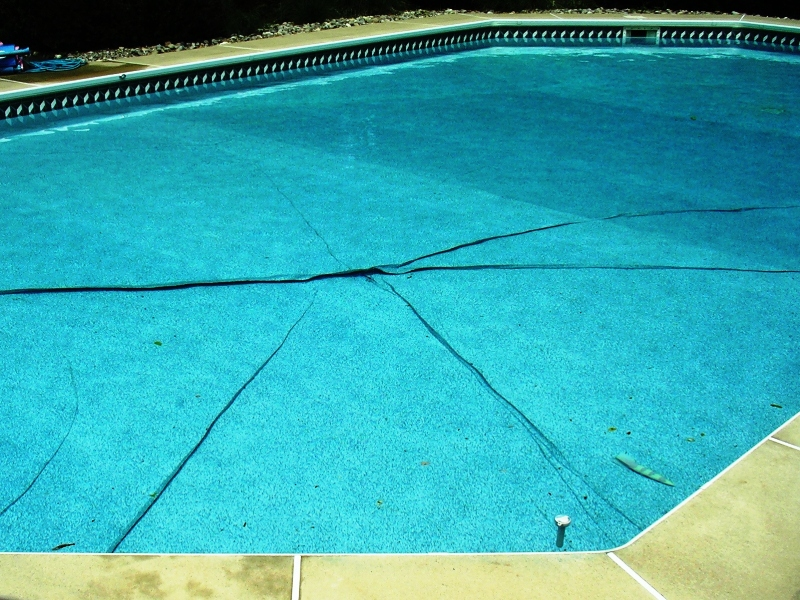 Problems and solutions pool system apco pools for Installing pool liner in cold weather
