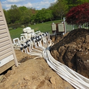 In Progress - Plumbed and valved to allow individual control of all 21 plumbing lines.