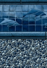 Royal Dolphin Tile<br>Bluestone