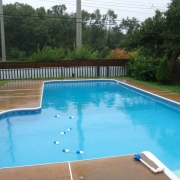 BEFORE - True L shape pool