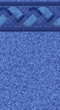 1 Garrett - Blue Raleigh Tile / Blue Laguna - 27 / 20 MIL Upgrade
