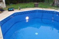 Garrett - Blue Raleigh Tile / Blue Laguna - 27 / 20 MIL Free Upgrade