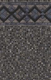 Cobalt Lake<br>Grey Mosaic