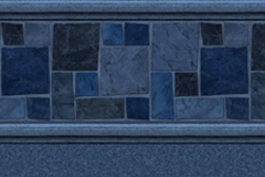 Performance - Courtstone Blue / Natural Blue - 27 / 27 MIL - Free Upgrade