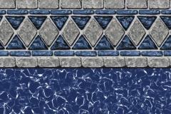 Merlin - Hampton Bays Tile / Blue Lagoon Bottom 20 MIL