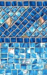 Luxe Gemstone Tile  Ocean Breeze Bottom