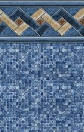 Mountain Top<br>Blue Mosaic