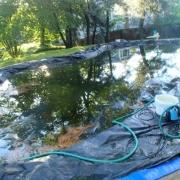 PROBLEM & SOLUTION<br/> Frozen cover pump hose
