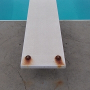 PROBLEM<br/>Rusty Diving Board Hardware