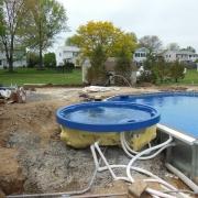 In Progress - Installed spa.
