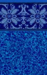 Sea Blossam Tile<br/>Blue Pointe Bottom