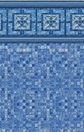 Vintage Mosaic<br>Blue Mosaic